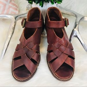 Vintage Cole Haan Counrty Leather Sandal